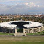 Das Olympiastadion in Berlin