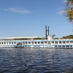 Raddampfer auf dem Tegeler See Berlin
