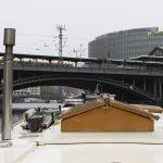 Kinette vor dem Deutschen Bundestag (Foto: Georges Pulver)