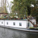 Wohnboote gibt es auch in Berlin – aber selten!