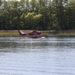 Wasserflugzeug auf dem Grossen Storkower See