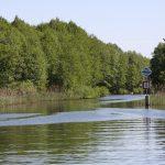 Einfahrt in ein Fliess zwischen zwei Seen (Wendisch-Rietz)