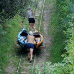 Bootsschleppe in Märkisch-Buchholz