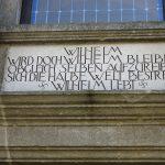 Inschrift in Lübben