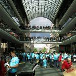 Musikalischer Flash Mob in der Mall of Berlin