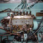 Einspritzpumpe am Kromhout-Motor