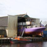 Werft in Wartena