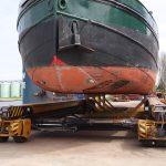 Ferngesteuerter Schiffstransport