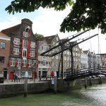 Einfahrt zum Wolwevershaven Dordrecht