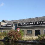 Die alte Kaffeerösterei von Douwe Egberts