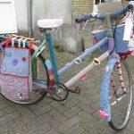 Noch ein Fahrrad mit Strickkleid