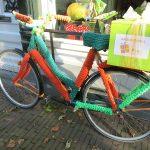 Noch ein gestricktes Fahrrad