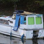 Ein Wrack – aber der AB-Motor ist ein Sammlerstück: Seagull