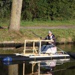 Ruderboot Marke Eigenbau