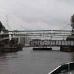 Die Gerrit-Krol-Brücke vor Groningen