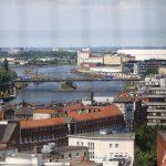 Blick vom Dom auf die Weser