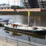 Kinette im Europahafen Bremen