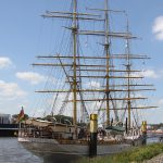 Schulschiff «Deutschland» in Vegesack