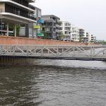 Europahafen bei Flut
