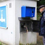Wasserzapfstelle in Minden