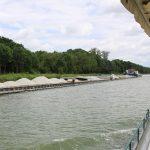 Frachtschiff mit rund 4'000 Tonnen Kies