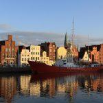 Das historische Feuerschiff «Fehmarnbelt» in Lübeck