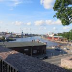 Blick auf die Trave in Lübeck