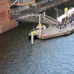 Unser Liegeplatz im Museumshafen Hamburg