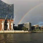 Im Hafen Hamburg
