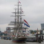 Die «Stad Amsterdam» in Hamburg