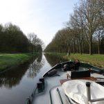 Auf der Veenvaart in Drenthe