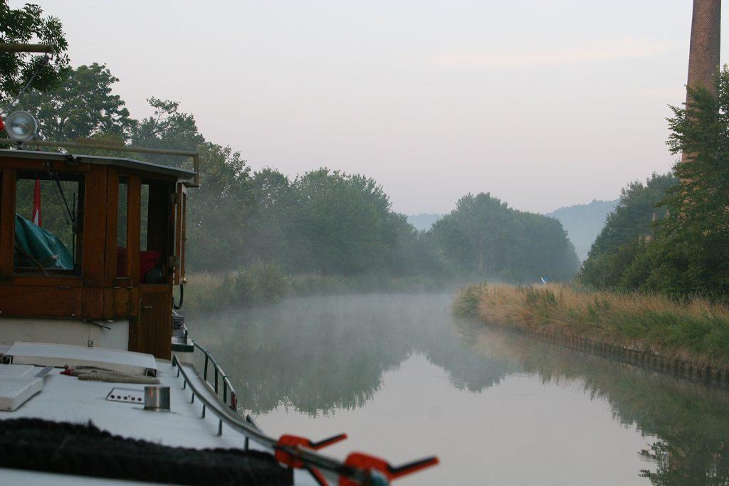Morgenstimmung am Canal des Ardennes
