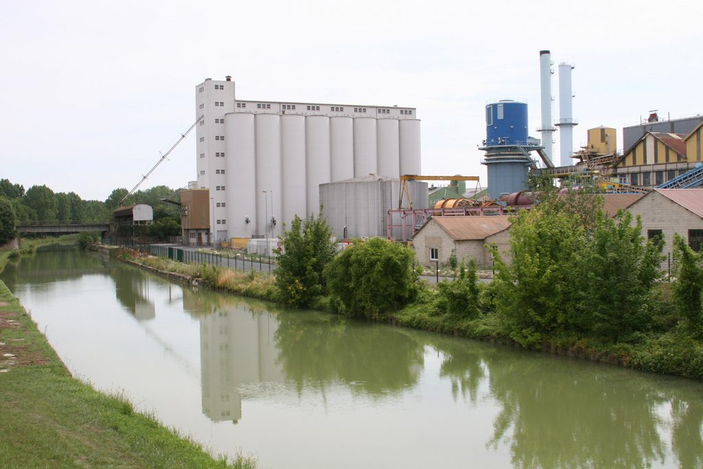 Zuckerfabrik bei Berry-au-Bac