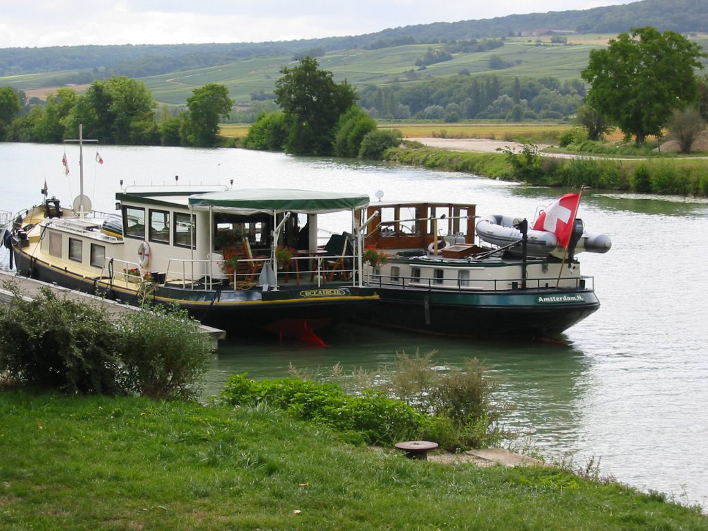 «Eclaircie» und «Kinette» auf der Marne