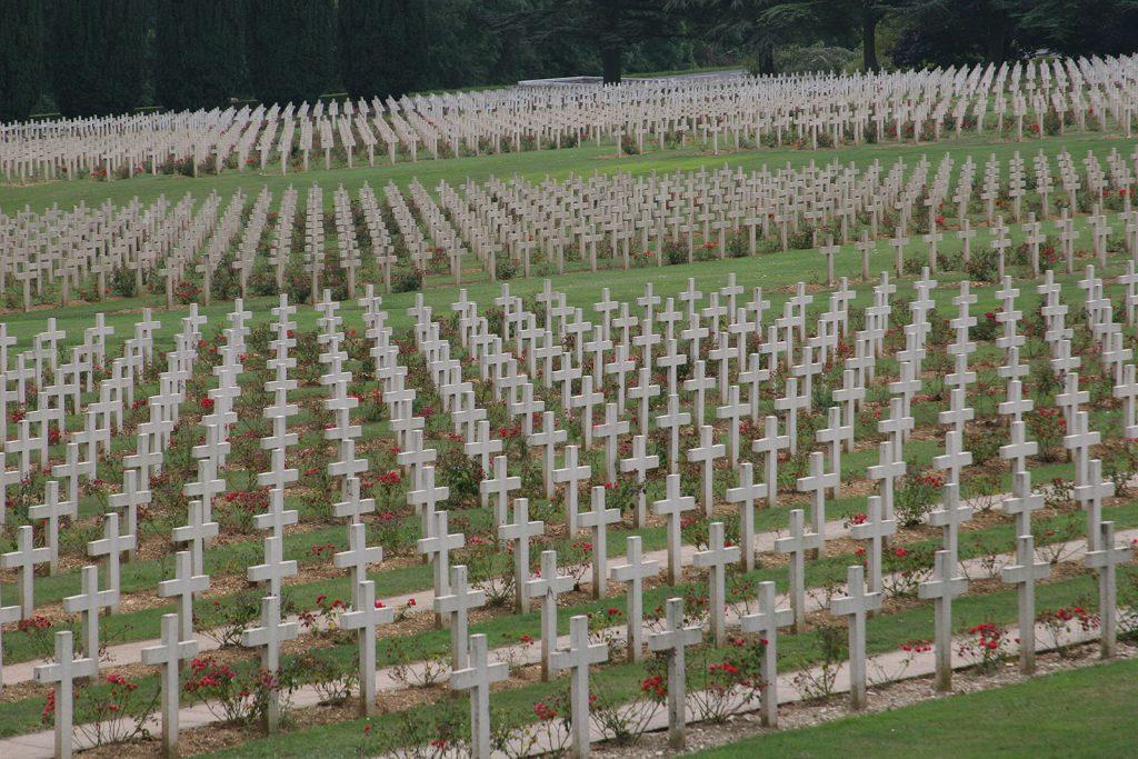 Gräberfeld bei Verdun