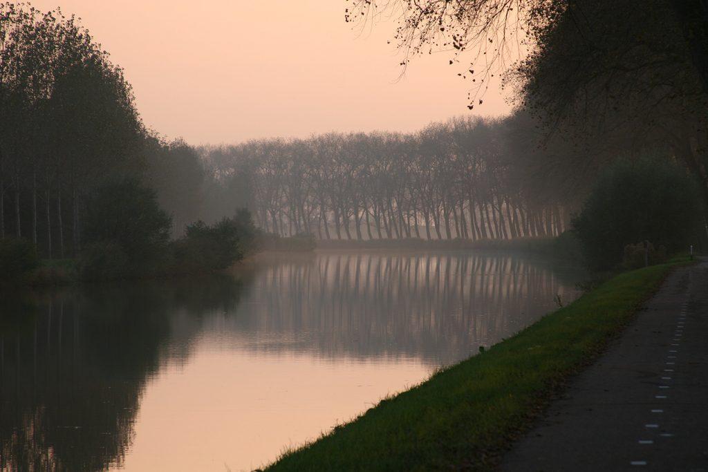 Der Merwedekanal – wie das Bild eines alten holländischen Meisters