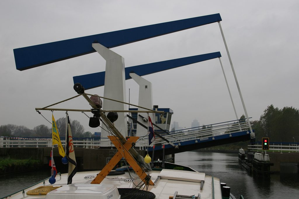 Hebebrücken von Amsterdam
