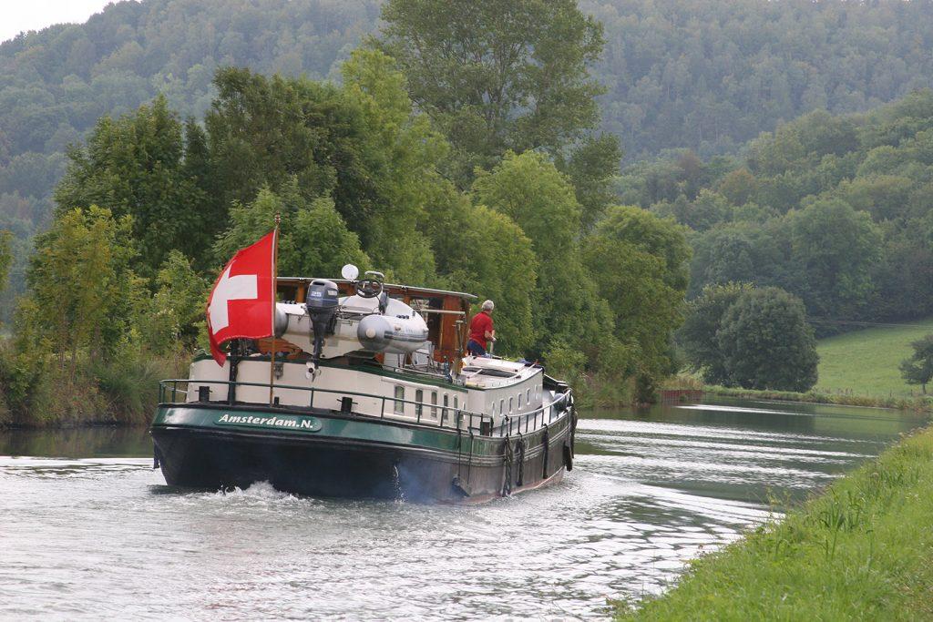 Amsterdam und Schweizerflagge – geht das?