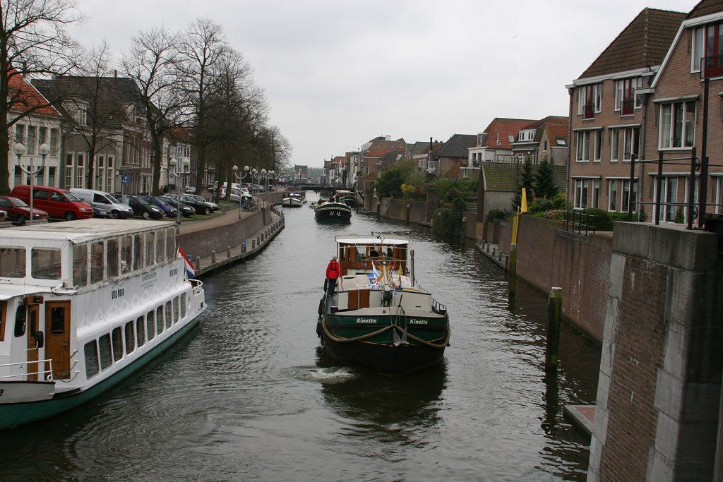 ...und in den Stadthafen Gorinchem