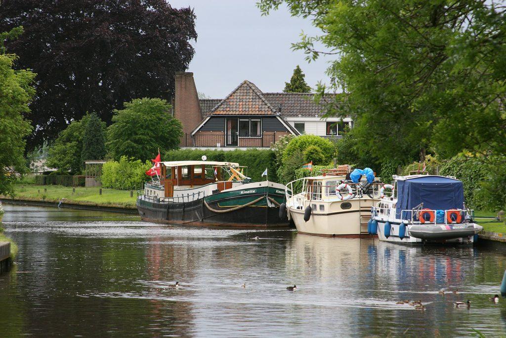 Liegeplatz in Oudewater