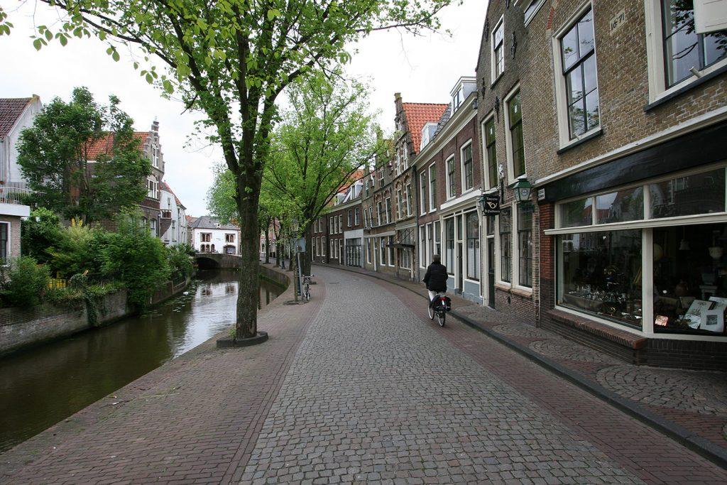 Häuserzeile in Oudewater