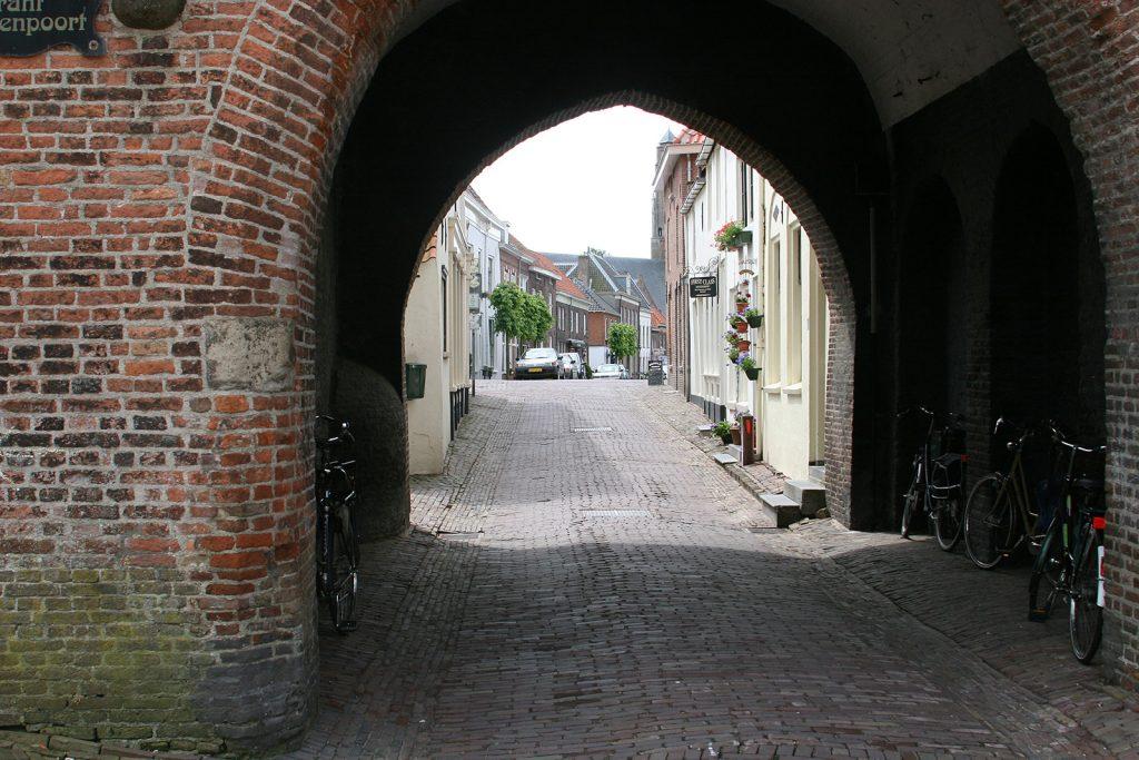 Das alte Festungsstädtchen Woudrichem...