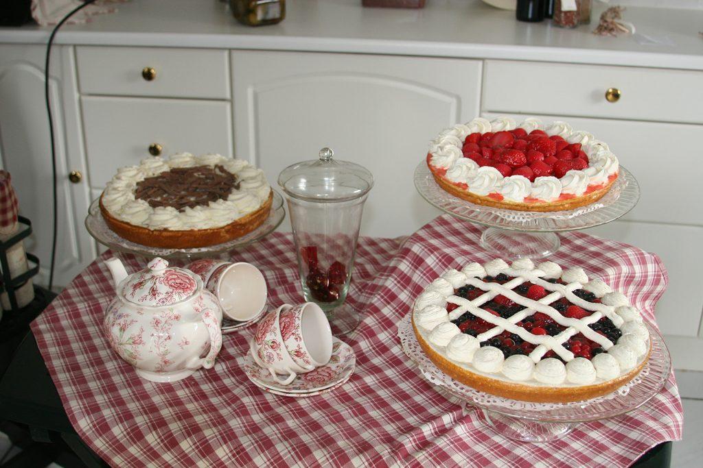 Köstliche Torten und Kuchen locken