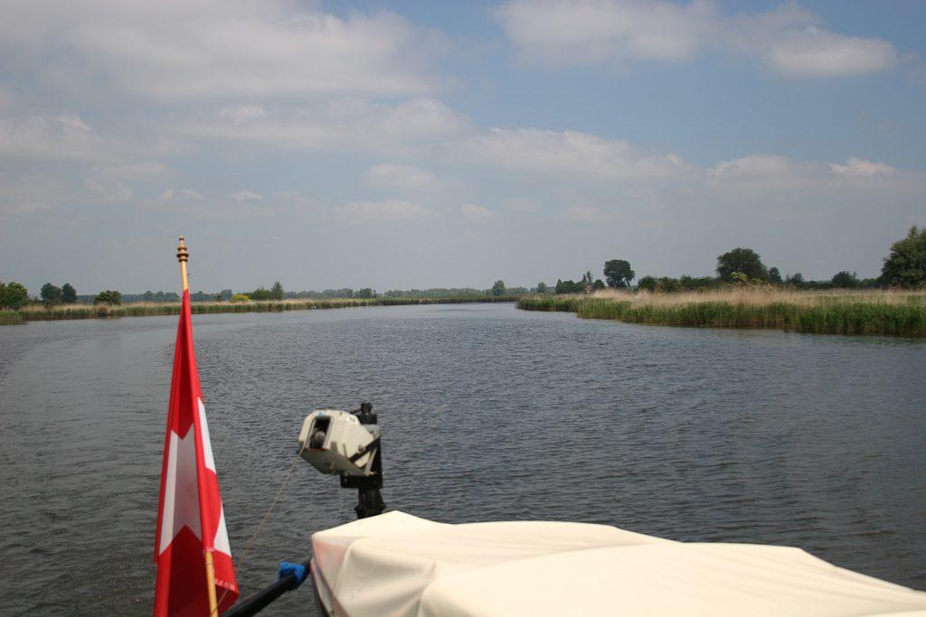 Nördliche Einfahrt in den Brabantschen Biesbosch