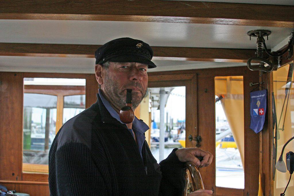 Der Fischer Jaap Tuinkabouter, unser Lotse