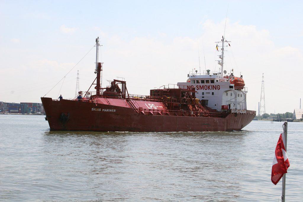 Der Gastanker «Sigas Mariner»