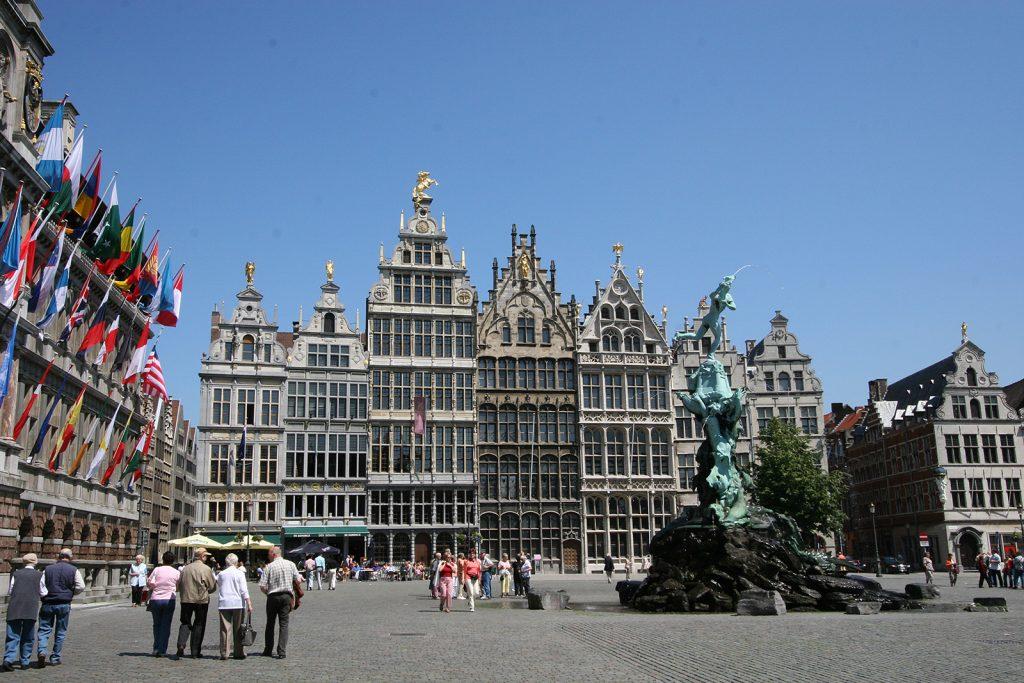 Zunfthäuser in Antwerpen