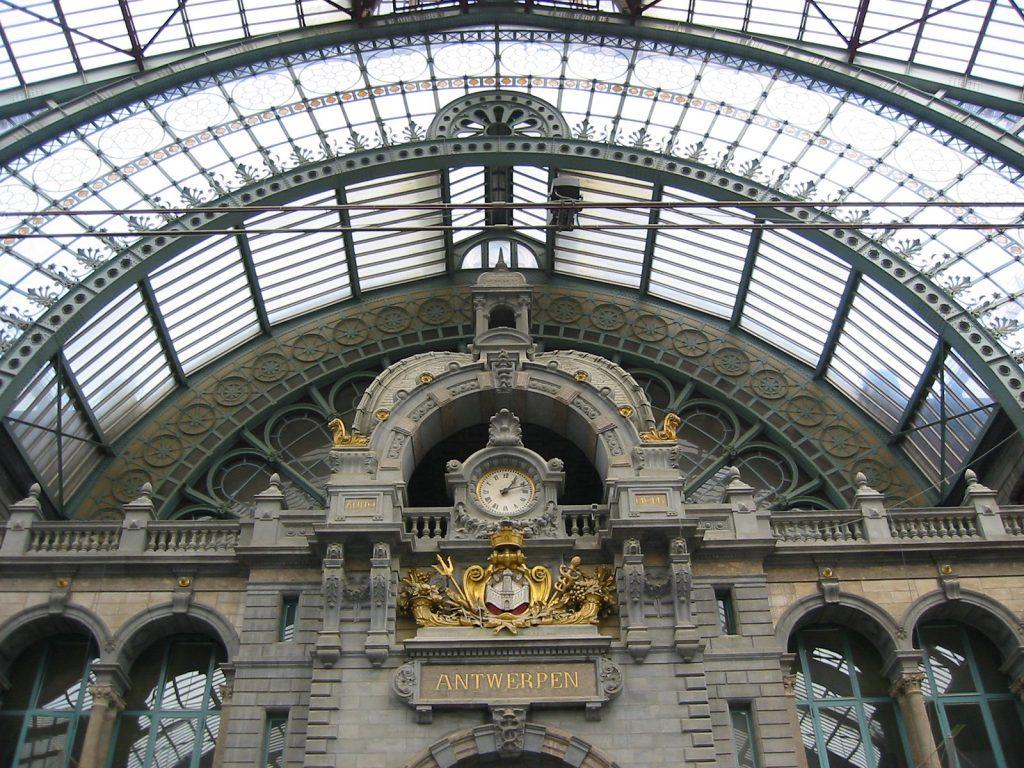 Die «Eisenbahnkathedrale» von Antwerpen
