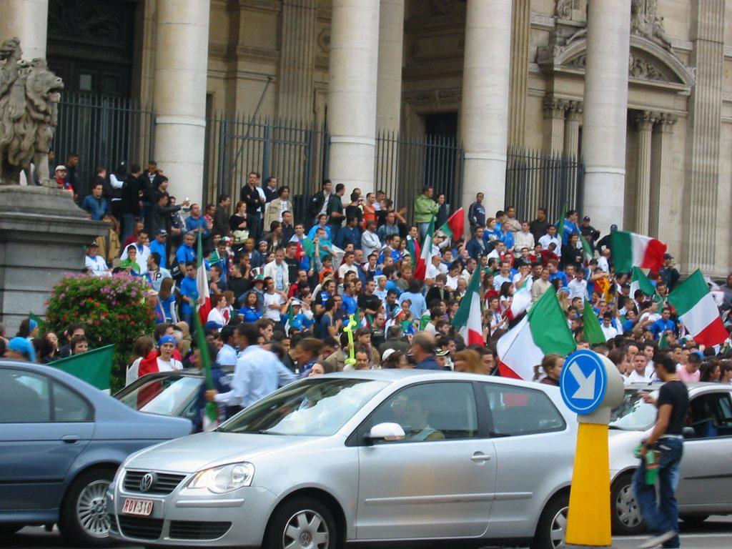 Italienerfest in Brüssel