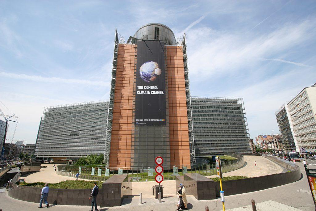Der Sitz der Europäischen Kommission